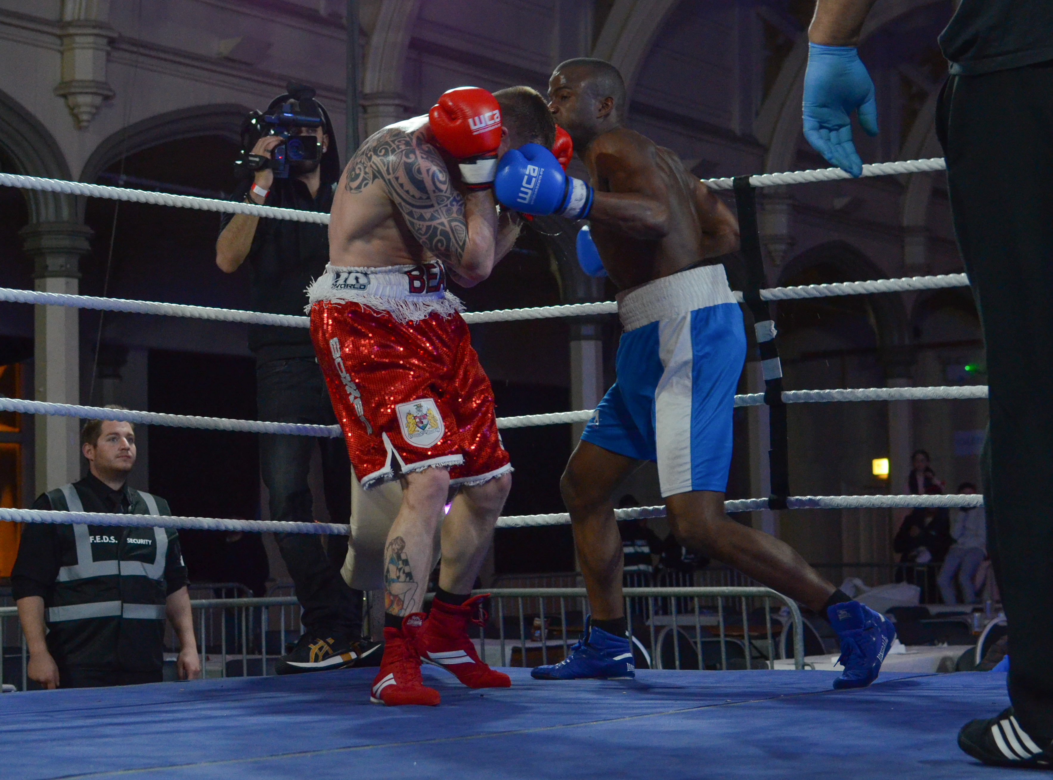 Andrew Watts vs Bady Touray