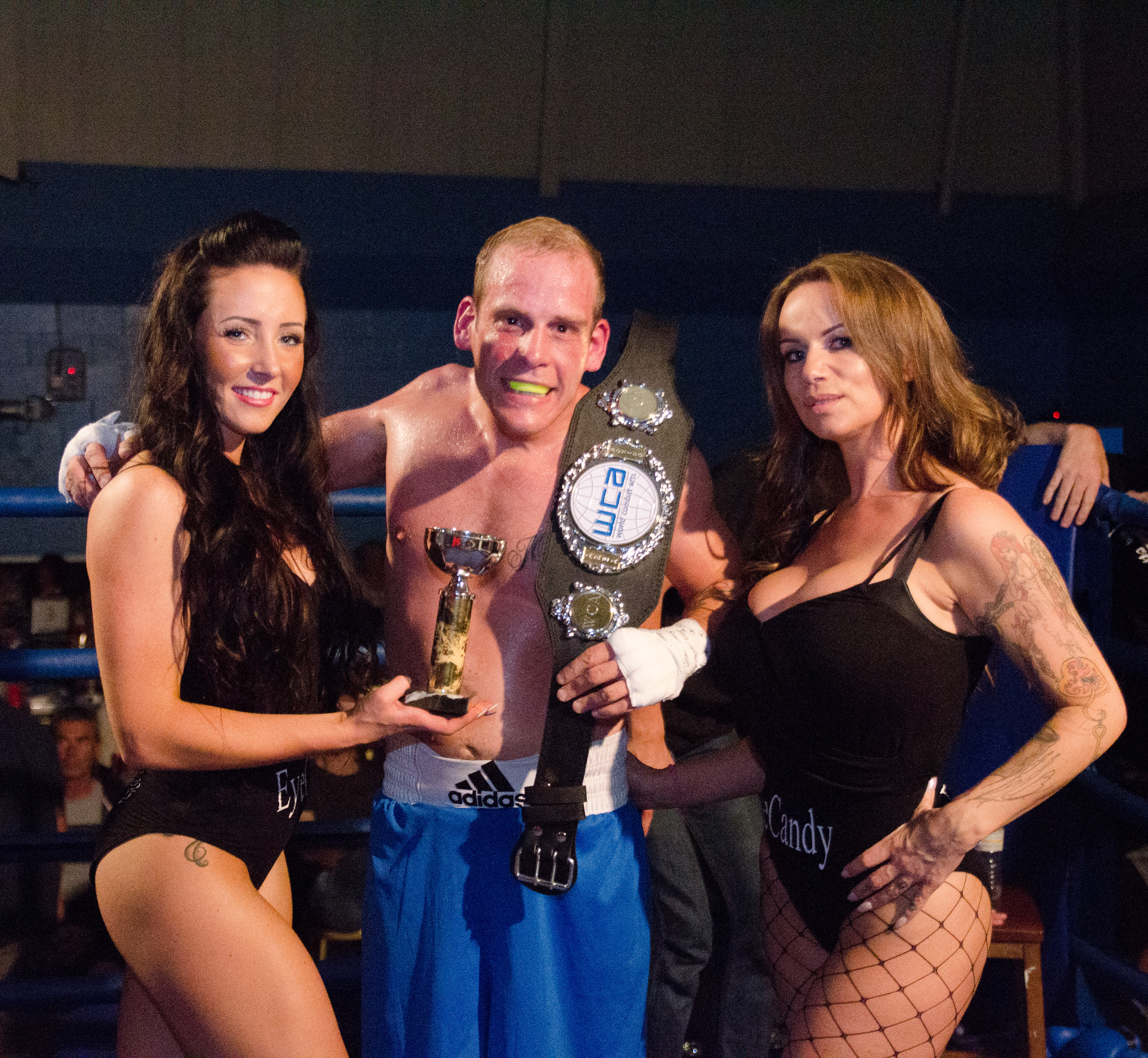 Kane Mallinson. WCA Area Boxing Champion