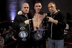 WCA European Sport Boing Champion 70-72kg